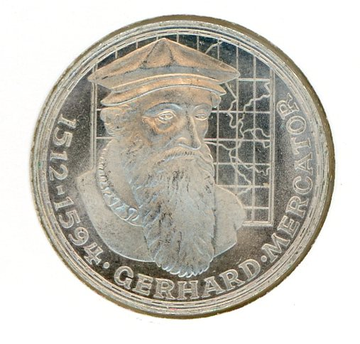 Thumbnail for 1969F German Silver Five Marks (B)