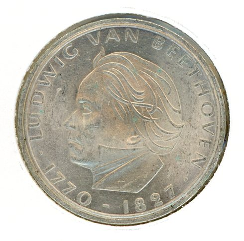 Thumbnail for 1970F German Silver Five Marks
