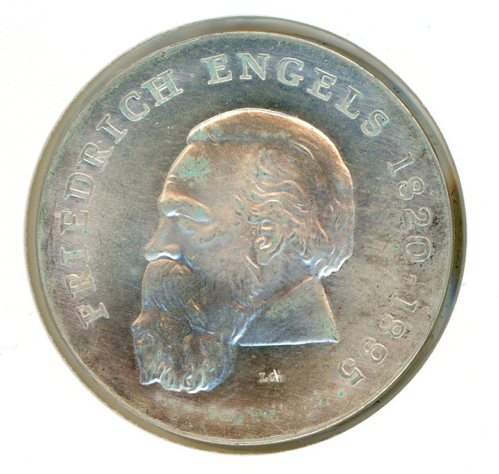 Thumbnail for 1970 DDR Silver 20 Marks aUNC
