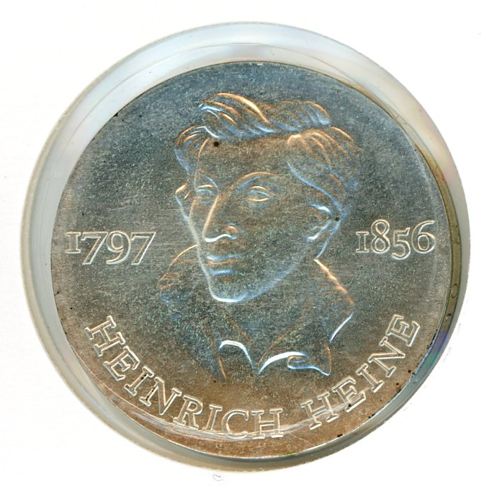 Thumbnail for 1972 DDR Silver Ten Marks UNC