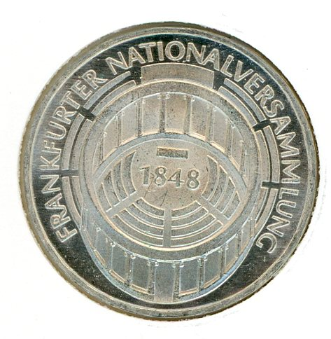 Thumbnail for 1973G German Silver Five Marks