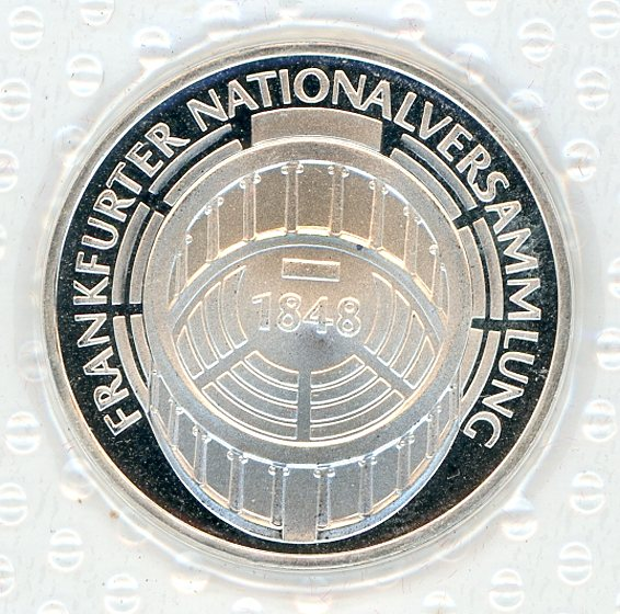 Thumbnail for 1973G German Silver Proof Five Mark Coin