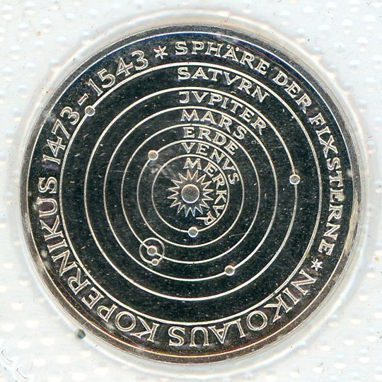 Thumbnail for 1973J German Silver Proof Five Mark Coin