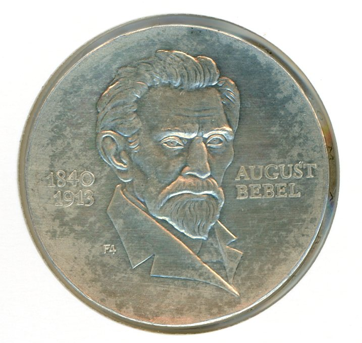 Thumbnail for 1973 DDR Silver 20 Marks UNC