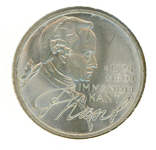 Thumbnail for 1974D German Silver Five Marks