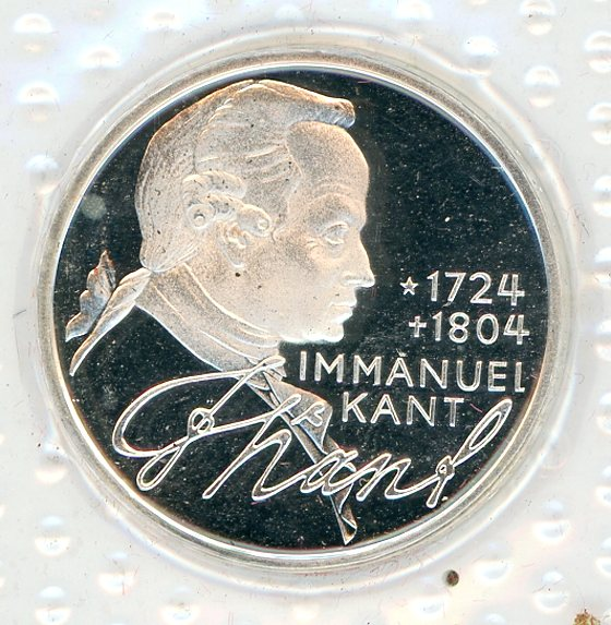 Thumbnail for 1974D German Silver Proof Five Mark Coin