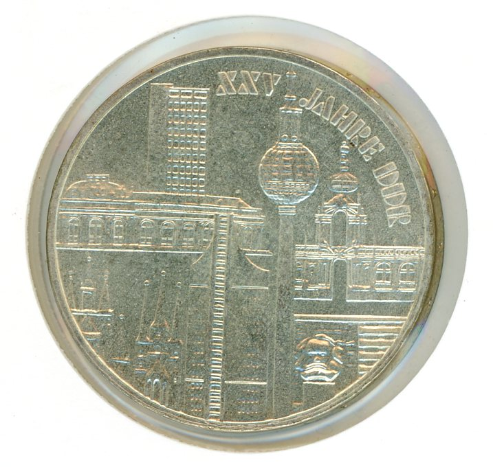 Thumbnail for 1974 DDR Silver Ten Marks UNC