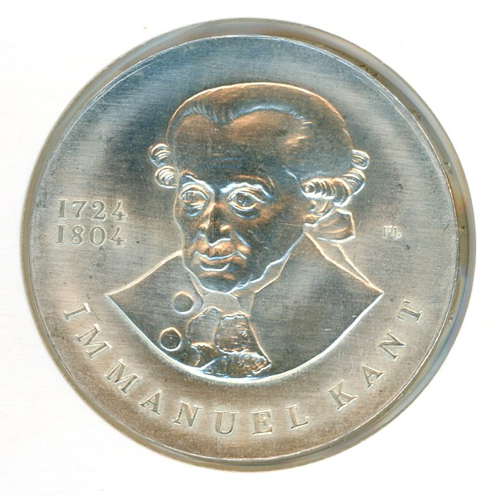 Thumbnail for 1974 DDR Silver 20 Marks UNC