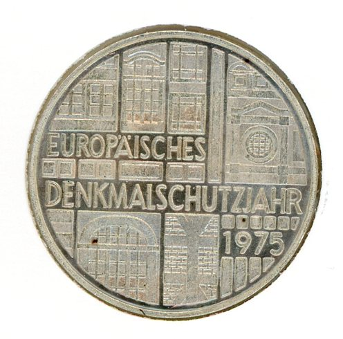Thumbnail for 1975F German Silver Five Marks