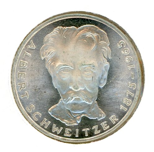 Thumbnail for 1975G German Silver Five Marks