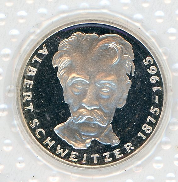 Thumbnail for 1975G German Silver Proof Five Mark Coin