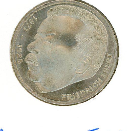 Thumbnail for 1975J German Silver Five Marks