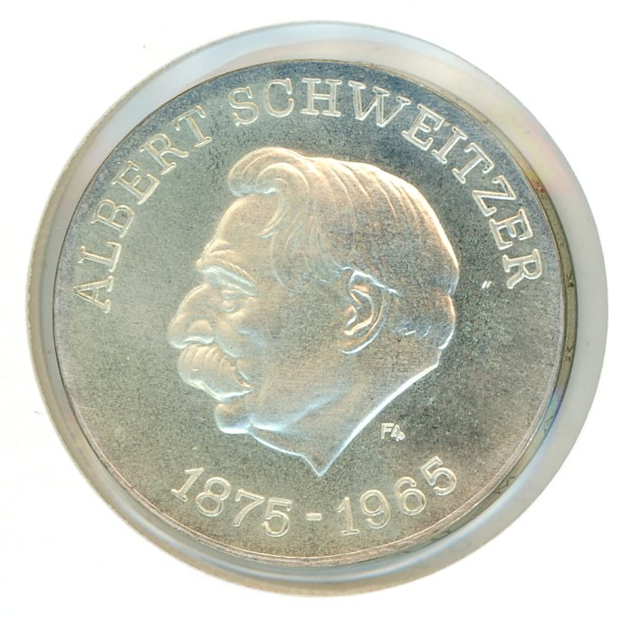 Thumbnail for 1975 DDR Silver Ten Marks UNC