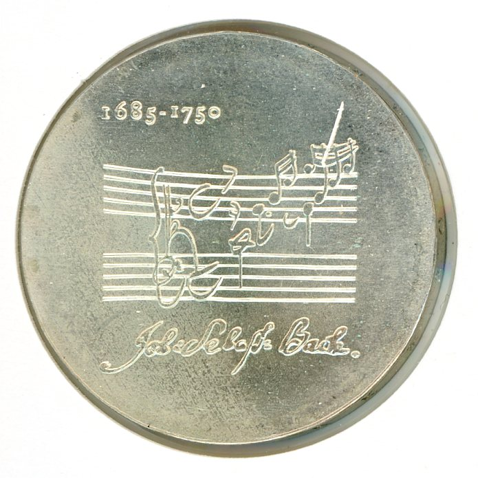 Thumbnail for 1975 DDR Silver 20 Marks UNC