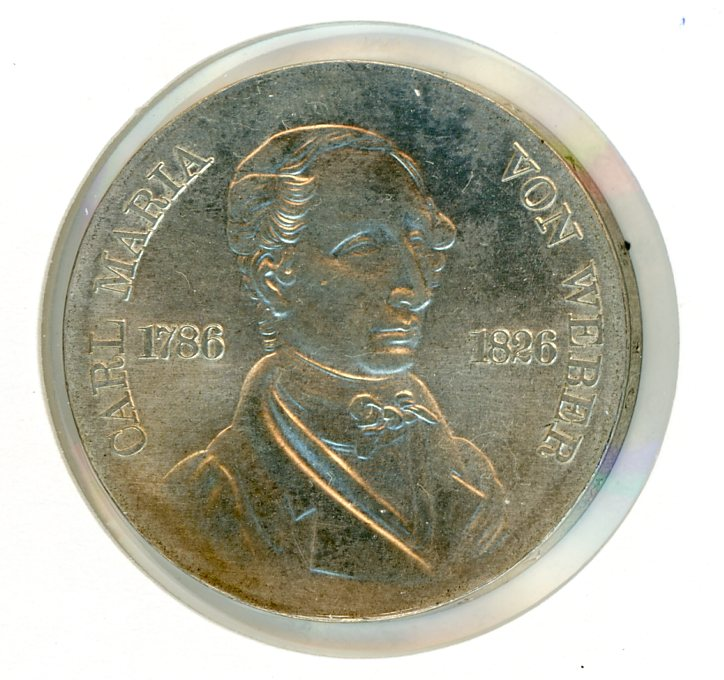 Thumbnail for 1976 DDR Silver Ten Marks