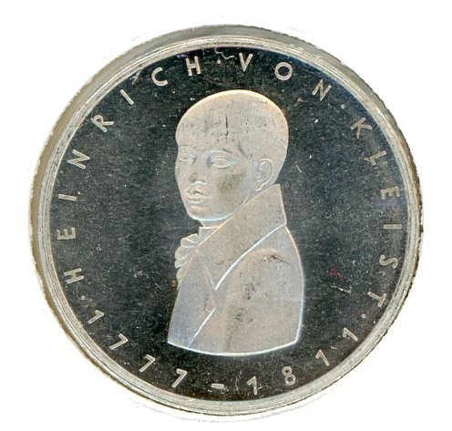 Thumbnail for 1977G German Silver Five Marks