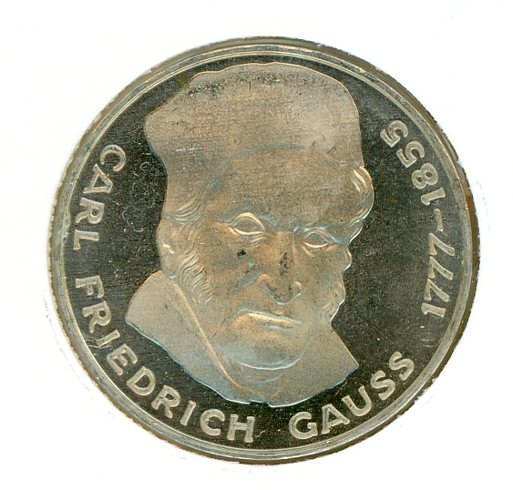 Thumbnail for 1977J German Silver Five Marks