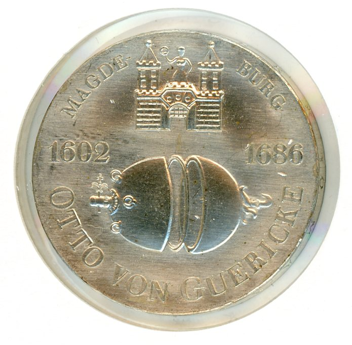 Thumbnail for 1977 DDR Silver Ten Marks UNC