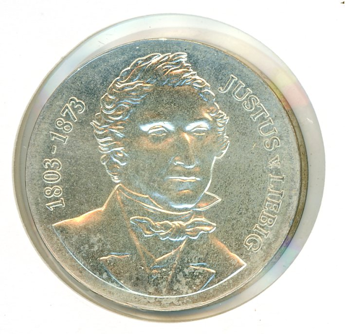 Thumbnail for 1978 DDR Silver Ten Marks UNC