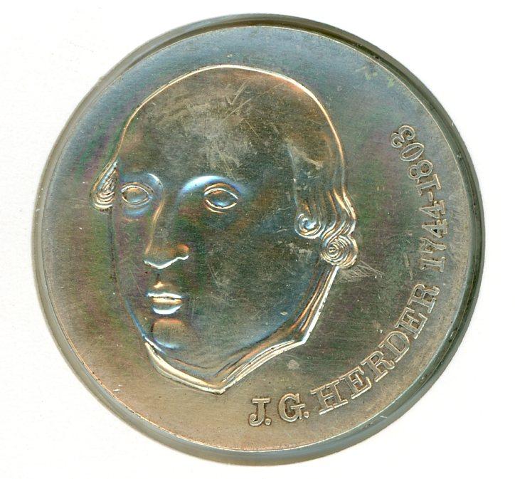 Thumbnail for 1978 DDR Silver Twenty Marks UNC