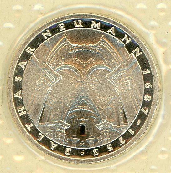 Thumbnail for 1978F German Silver Proof Five Mark Coin