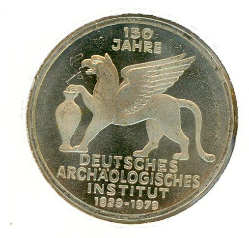 Thumbnail for 1979J German Silver Five Marks (B)