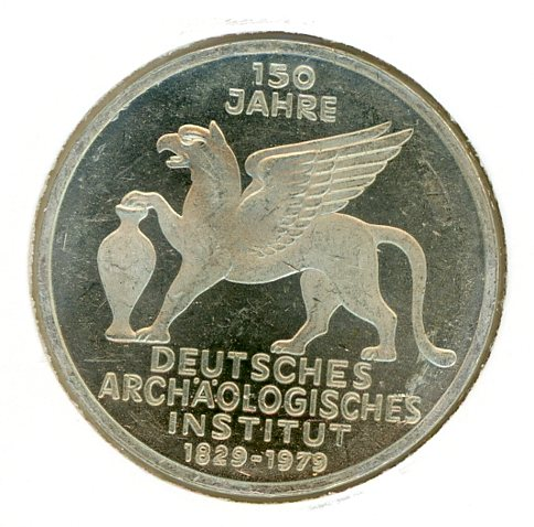 Thumbnail for 1979J German Silver Five Marks (A)