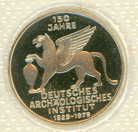 Thumbnail for 1979J German Silver Proof Five Mark Coin