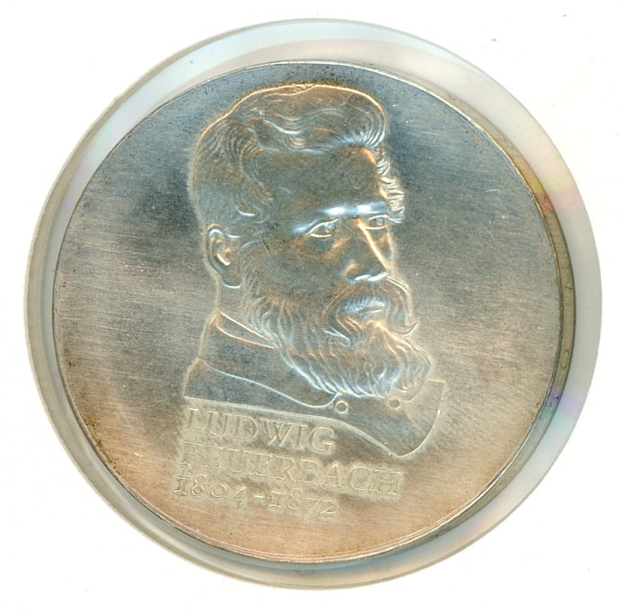 Thumbnail for 1979 DDR Silver Ten Marks UNC