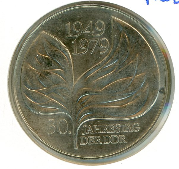 Thumbnail for 1979 Probe DDR Silver 20 Marks UNC