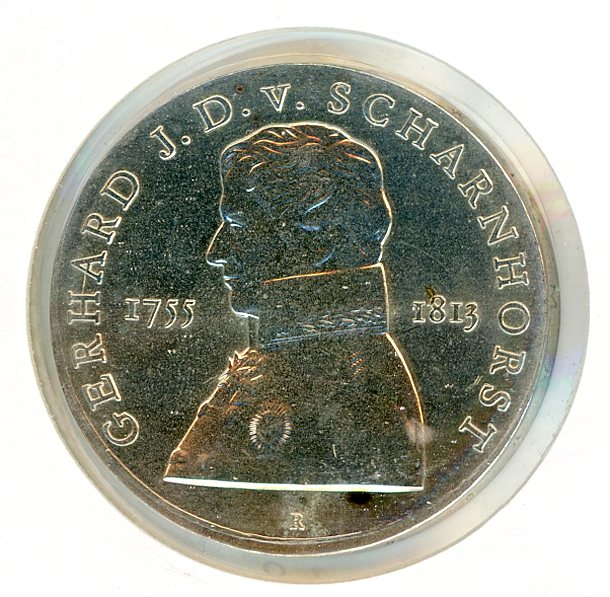 Thumbnail for 1980 DDR Silver Ten Marks UNC