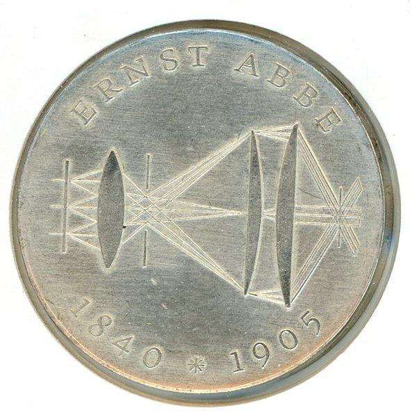 Thumbnail for 1980 DDR Silver Twenty Marks UNC
