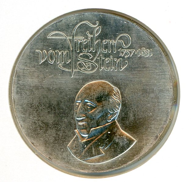 Thumbnail for 1981 DDR Silver 20 Marks UNC