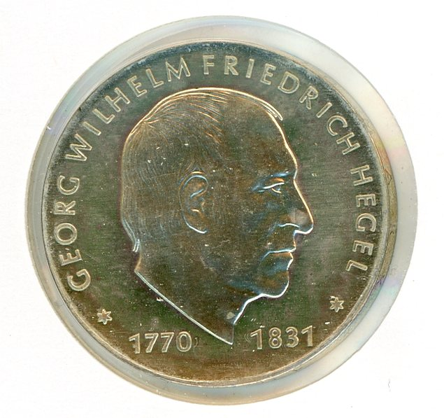 Thumbnail for 1981 DDR Silver Ten Marks UNC