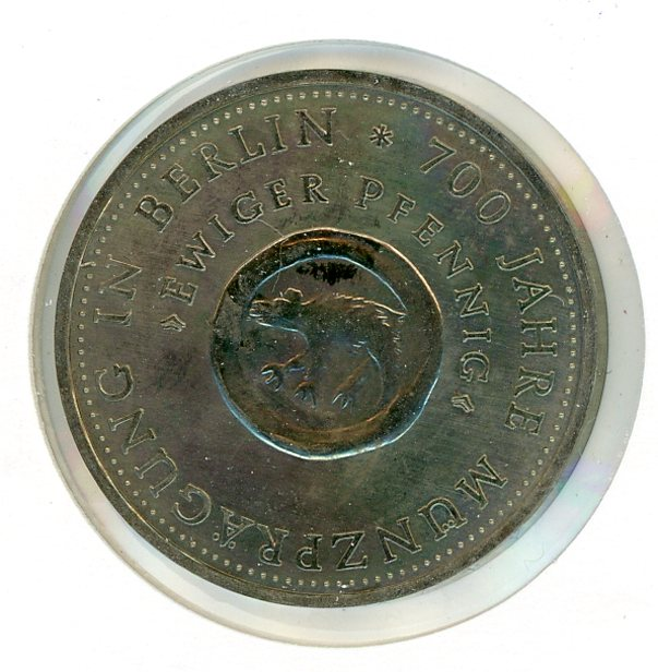 Thumbnail for 1981 DDR Silver 10 Marks UNC