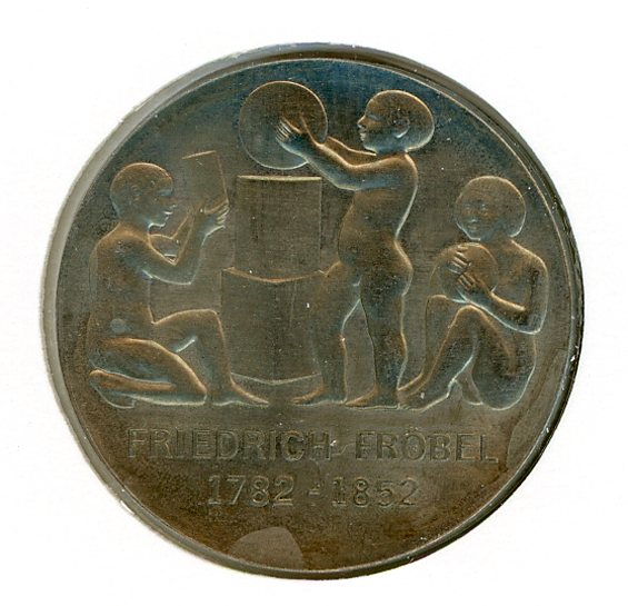 Thumbnail for 1982 DDR Silver Five Marks UNC