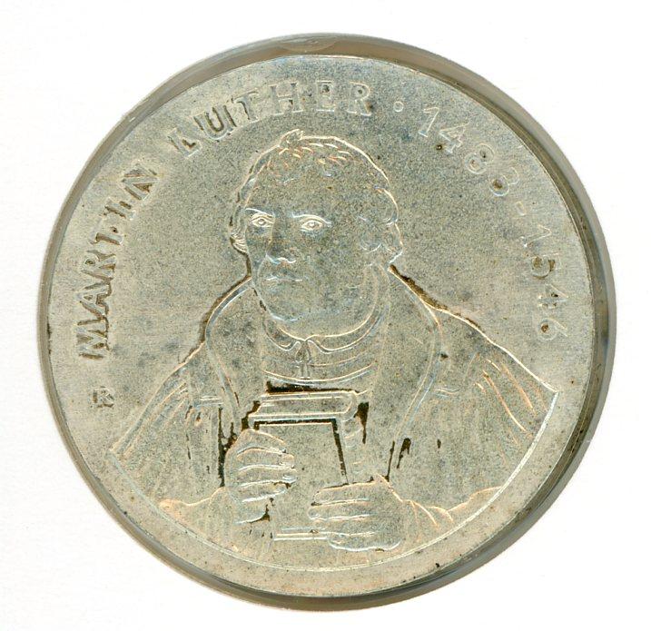 Thumbnail for 1983 DDR Silver Twenty Marks UNC