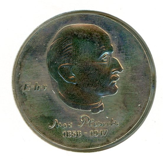 Thumbnail for 1983 DDR Silver Five Mark Coin UNC