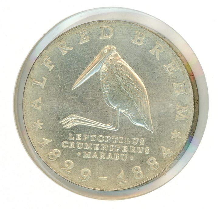 Thumbnail for 1984 DDR Silver Ten Marks UNC