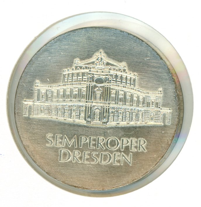 Thumbnail for 1985A DDR Silver Ten Marks UNC