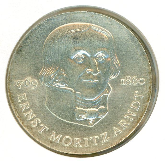 Thumbnail for 1985A DDR Silver Twenty Marks UNC