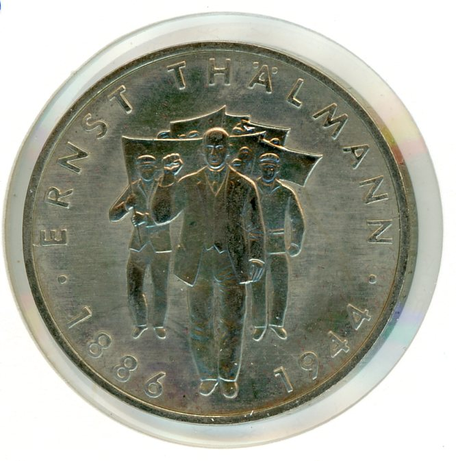 Thumbnail for 1986A DDR Ten Marks UNC