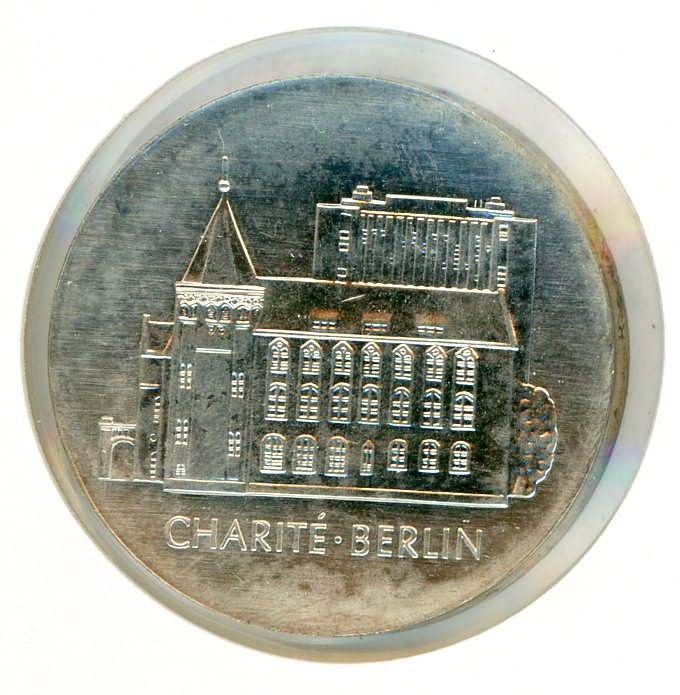 Thumbnail for 1986A DDR Silver Ten Marks UNC