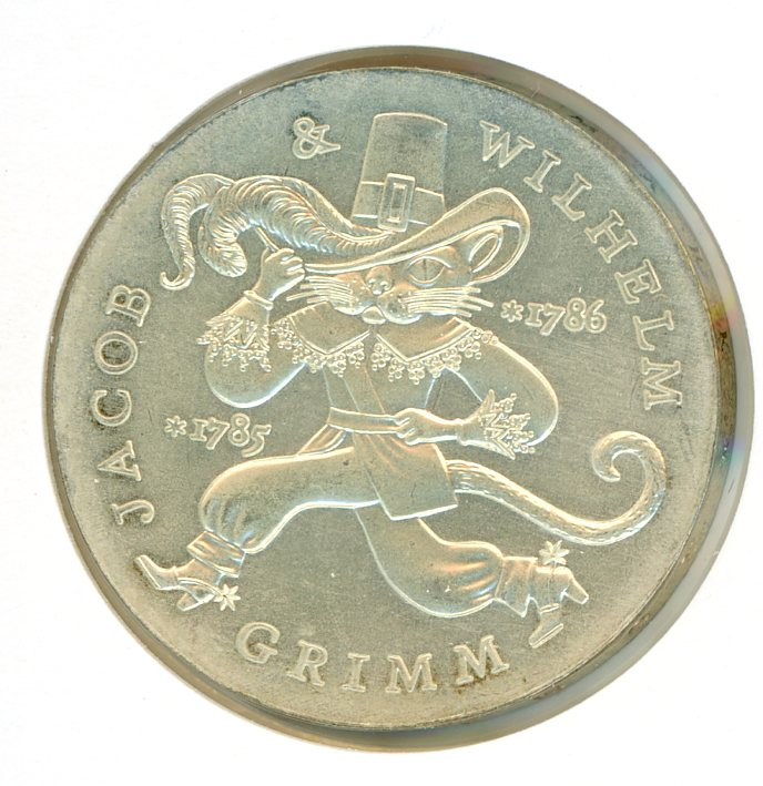 Thumbnail for 1986 DDR Silver Twenty Marks UNC
