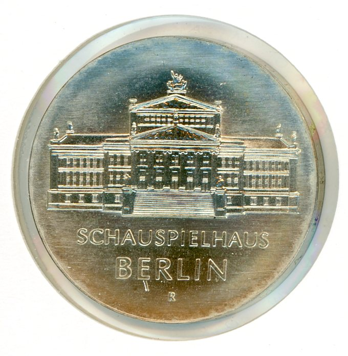 Thumbnail for 1987 DDR Silver Ten Marks UNC