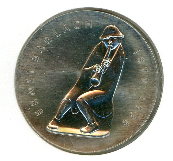 Thumbnail for 1988A DDR Silver Five Mark Coin UNC