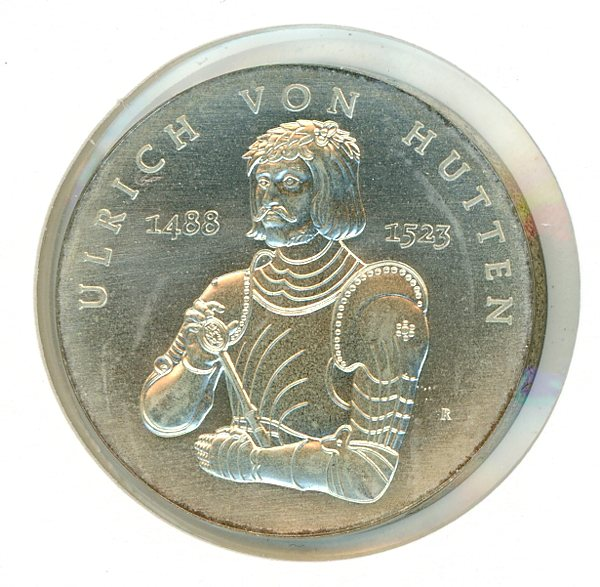 Thumbnail for 1988 DDR Silver Ten Marks UNC