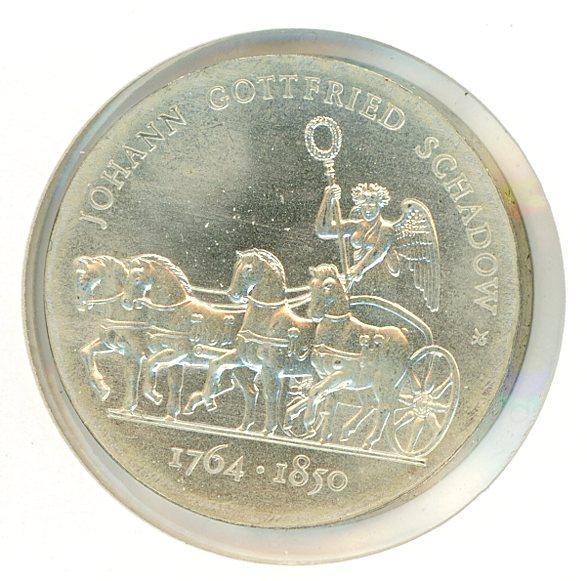Thumbnail for 1989A DDR Silver Ten Marks UNC