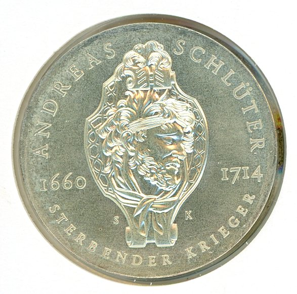 Thumbnail for 1990A DDR Silver Twenty Marks UNC