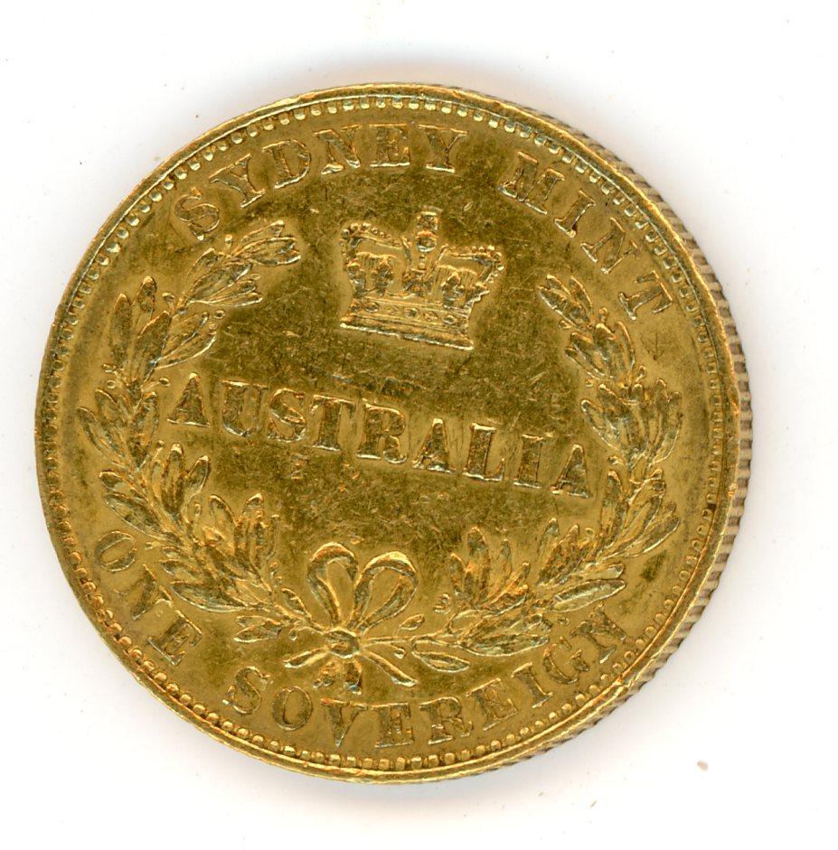 Thumbnail for 1856 Australian Sydney Mint Gold Sovereign Type One